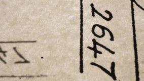 gammala skrifter arkivfilmer