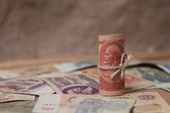 Gammala sovjetiska pengar Royaltyfri Bild