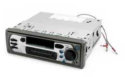 gammala stereo- trådar för oisolerad bil Royaltyfria Bilder
