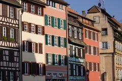 gammala strasbourg Royaltyfria Bilder