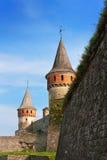 gammala torn för fortes Arkivfoton