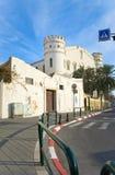 gammala torn för stad Arkivbilder