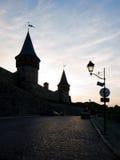 gammala torn för slott Arkivbilder