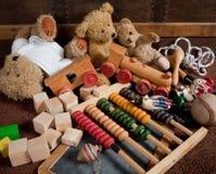 gammala toys Royaltyfria Foton