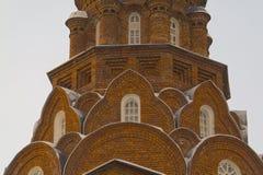 Gammala troenden för helig Trinity som är kyrkliga i Vladimir Royaltyfria Foton