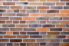 gammala väggar för tegelsten Royaltyfri Bild