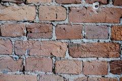 gammala väggar för tegelsten Royaltyfria Bilder