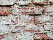 gammala väggar för tegelsten royaltyfri fotografi