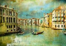 Gammala Venedig fotografering för bildbyråer