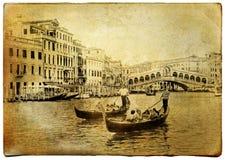 Gammala Venedig Arkivbild