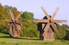 gammala windmills Arkivbild
