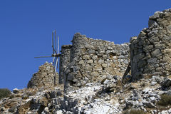 gammala windmills Royaltyfria Bilder