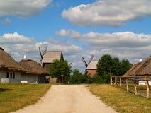 gammala windmills Royaltyfri Foto