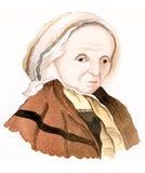 gammalare lady Arkivfoto
