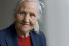 gammalare lady Arkivbild