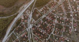 Gammalgrekiska och Roman Ruins Aerial Footage, Stratonikeia arkivfilmer