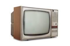 Gammalmodig rörTV Arkivbild