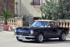 Gammalmodiga Fiat Fotografering för Bildbyråer
