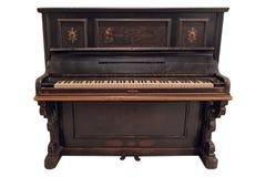Gammalmodigt piano Fotografering för Bildbyråer