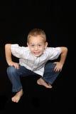 gammalt år för 5 pojke Arkivfoto