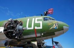 gammalt återställande för flygplan under Royaltyfria Bilder