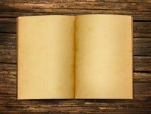 gammalt öppet papper Fotografering för Bildbyråer