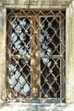 Gammalt övergett fönster Royaltyfri Fotografi