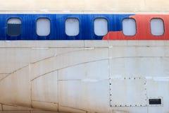 Gammalt övergett flygplan i Chiang Mai, Thailand 11 Royaltyfria Bilder