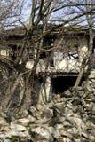gammalt övergivet hus Royaltyfria Foton