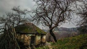 gammalt övergivet hus Royaltyfri Fotografi