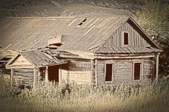 gammalt övergivet hus Royaltyfri Bild