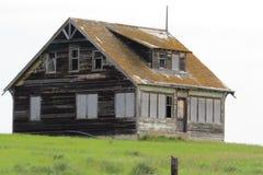 gammalt övergivet hus Royaltyfri Foto