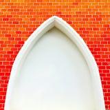 Gammalt abstrakt begrepp för tappning för bakgrund för väggen för textur för tegelstenväggen red ut textur befläckt gammalt stuck Arkivbilder