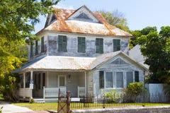 gammalt amerikanskt hus royaltyfri fotografi