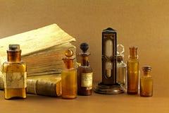 gammalt apotek Arkivbild