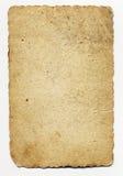 gammalt ark Arkivbild