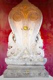 Gammalt av Sema, symbol av buddhism i Wat Pho, Bangkok, Thailand Arkivfoto