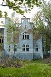 gammalt badbyggnadshus Royaltyfri Foto