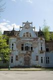 gammalt badbyggnadshus Royaltyfria Foton