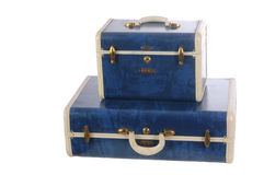 gammalt bagage royaltyfri foto