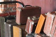 gammalt bagage Royaltyfri Bild