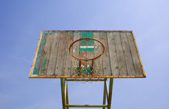 Gammalt basketbeslag. Fotografering för Bildbyråer