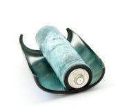 gammalt batteri Arkivfoton