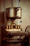 Gammalt bearbeta med maskin Royaltyfria Foton