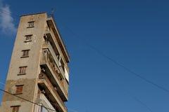 Gammalt Beirut flerfamiljshus Arkivbild