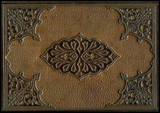 gammalt bibelläder Royaltyfri Foto