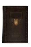 gammalt blankt bokomslag Fotografering för Bildbyråer