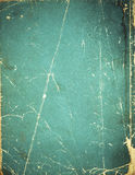 gammalt blankt bokomslag Arkivbild