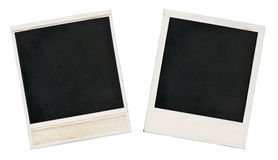 gammalt blankt kort Arkivbild