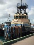 Gammalt bogserbåtfartyg Royaltyfri Foto